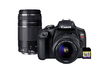 EOS Rebel T7 Premium Kit