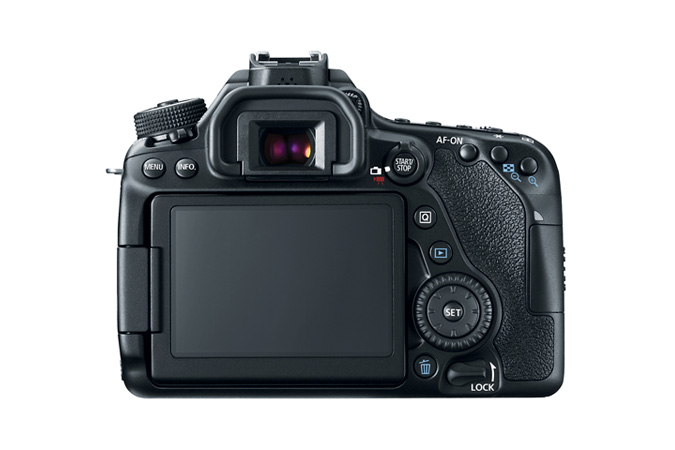 EOS 80D Body view 2