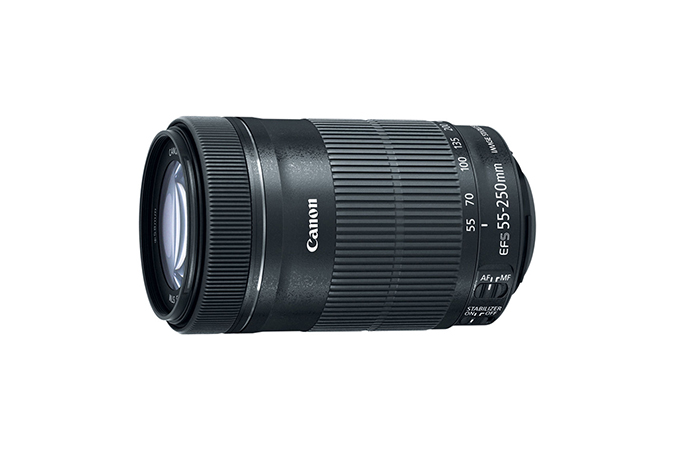 EF-S 55-250mm f/4-5.6 IS STM view 1