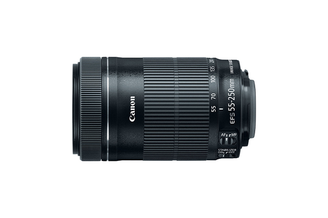 EF-S 55-250mm f/4-5.6 IS STM view 2