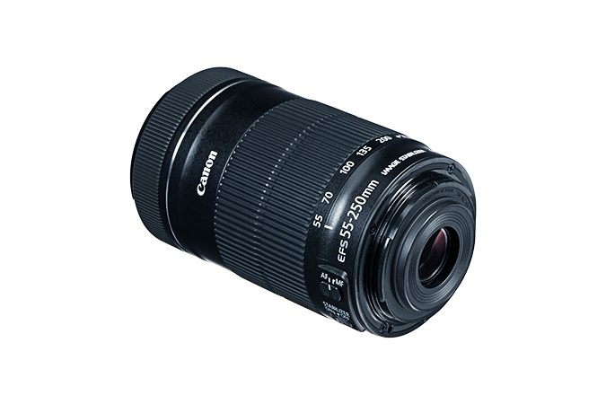 EF-S 55-250mm f/4-5.6 IS STM view 3