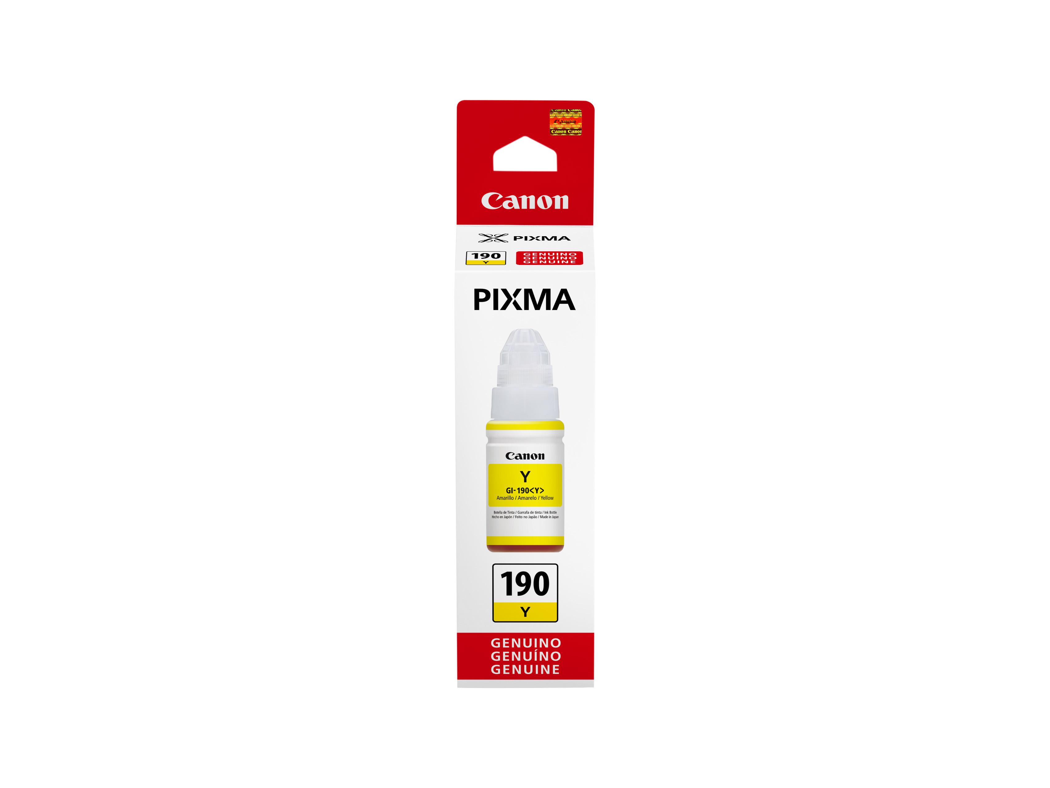 Pixma G3110 Canon Tienda Online Chile Tinta G Series Yellow Gi 190