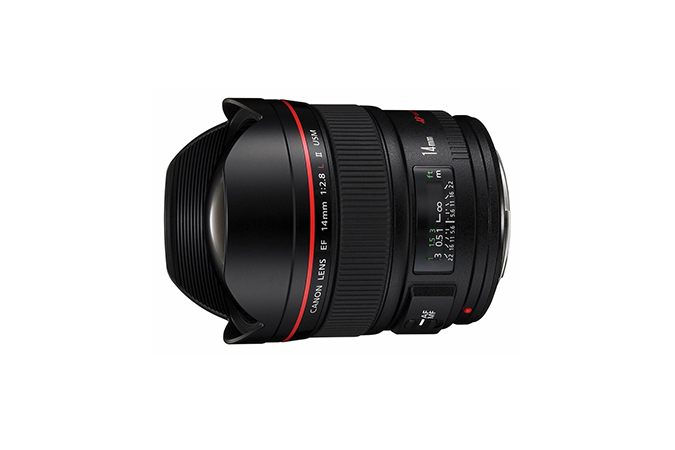 EF 14mm f/2.8L II USM view 1
