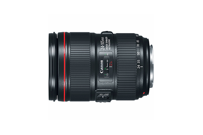 EF 24-105mm f/4L IS II USM view 2