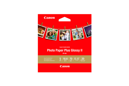 Papel Fotográfico Plus Glossy II PP-301 5'x5' (20 Hojas)