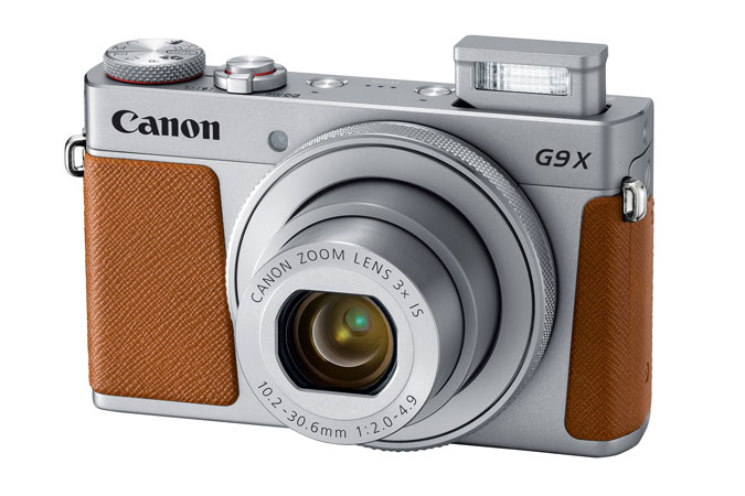PowerShot G9 X Mark II Plata view 2