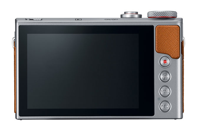 PowerShot G9 X Mark II Plata view 3