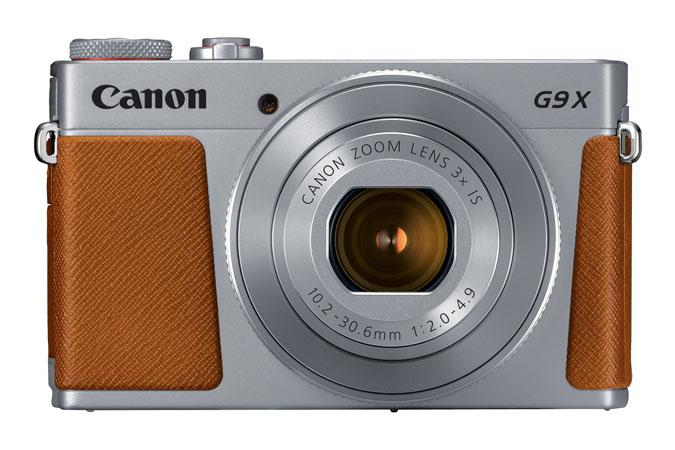 PowerShot G9 X Mark II Plata view 4