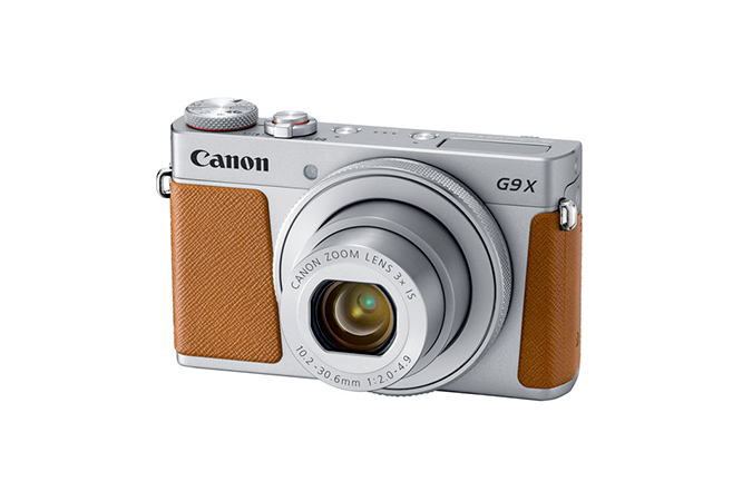 PowerShot G9 X Mark II Plata view 1