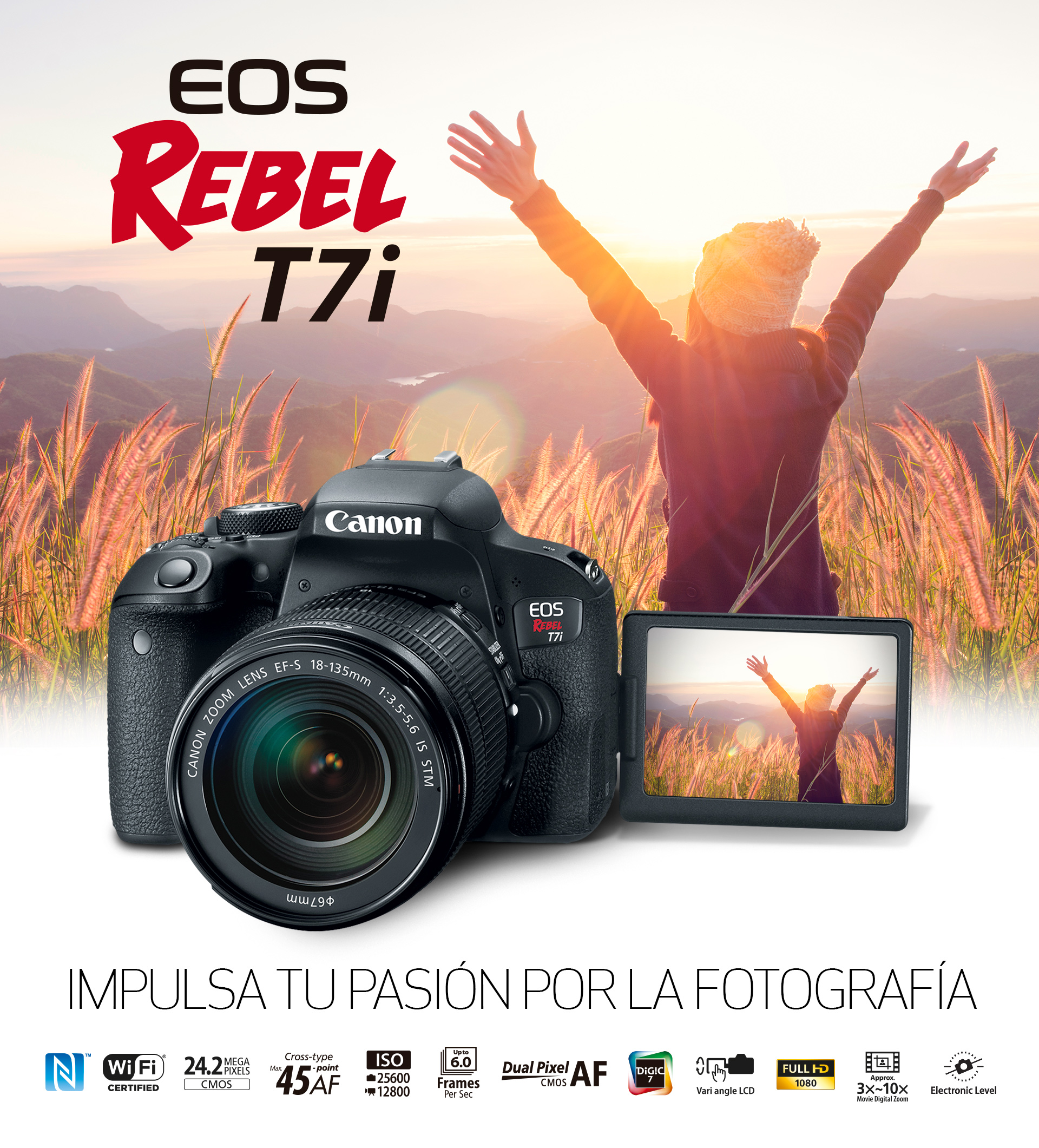 Eos Rebel T7i Ef S 18 55mm F 4 5 6 Is Stm
